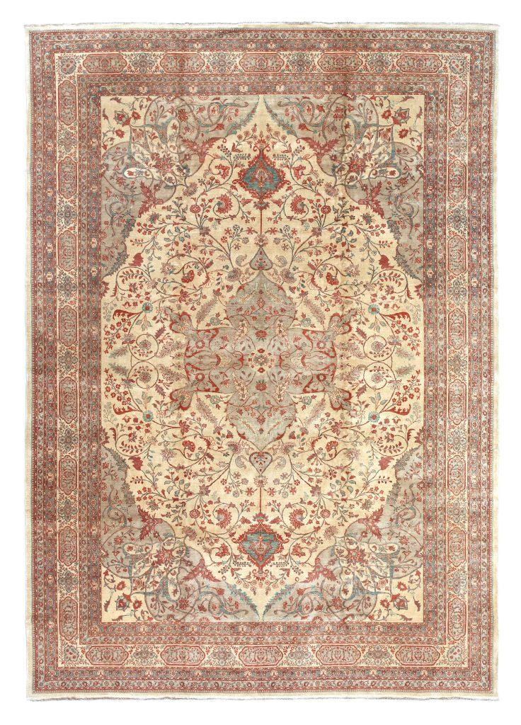 Large Hereke Turkish Carpet - Very Fine Wool - Oversize