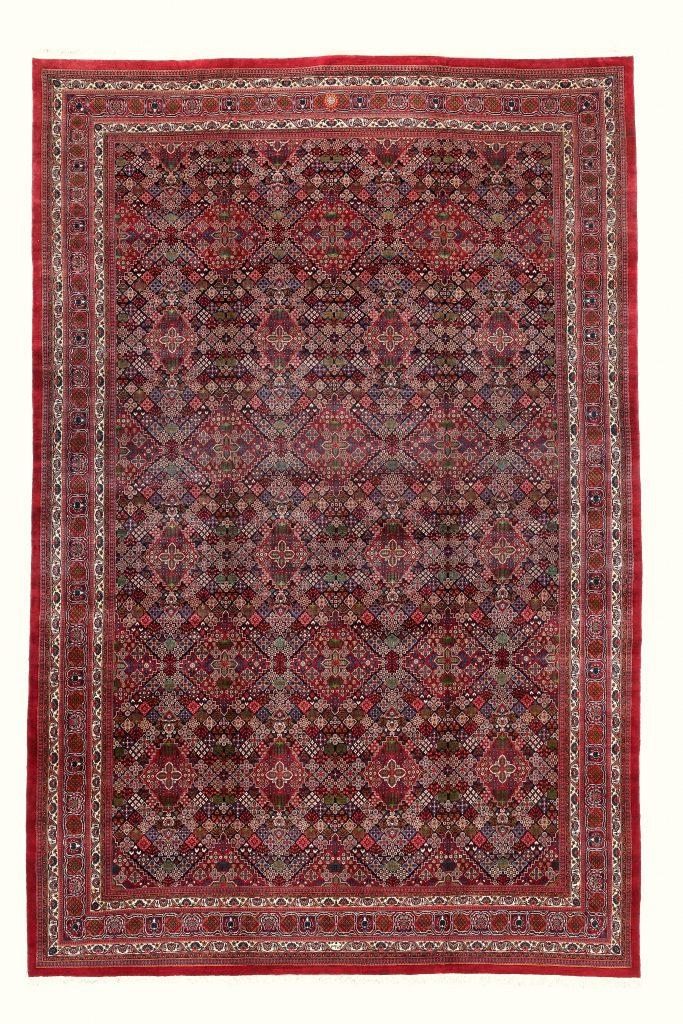 Signed Persian Birjand Extra Large Carpet at Essie Carpets, Mayfair London
