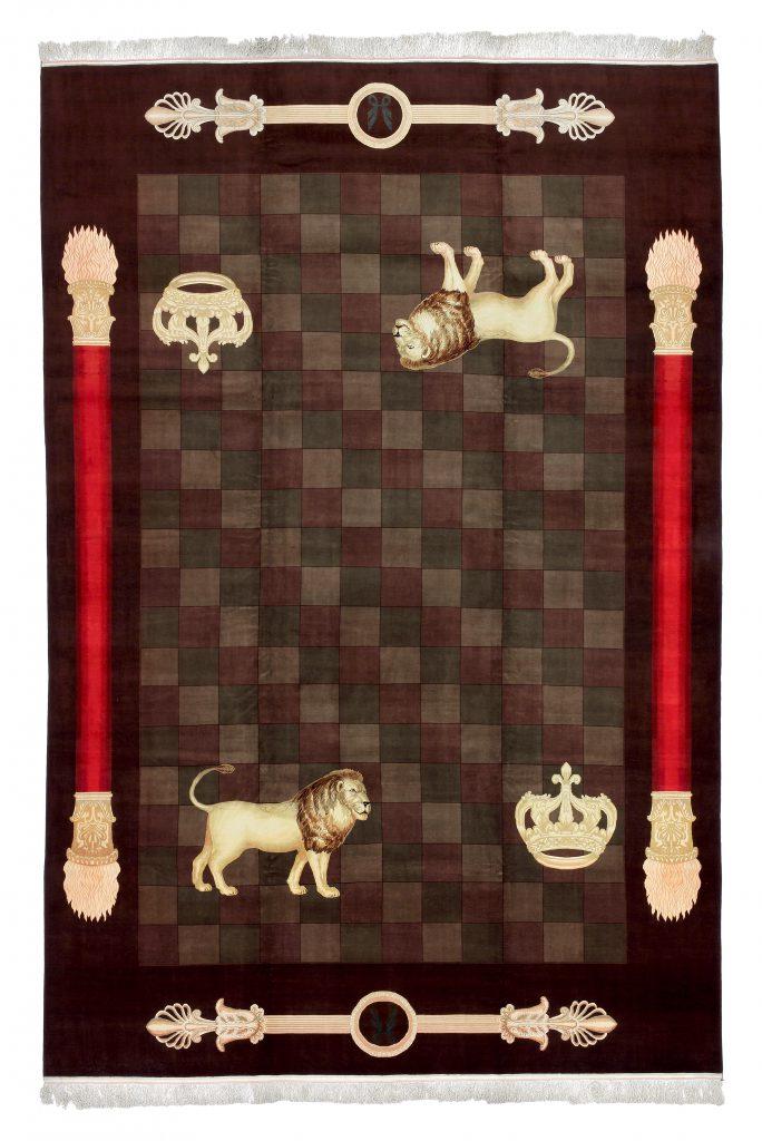 Very Fine Persian Tabriz Extra Large Carpet at Essie Carpets, Mayfair London