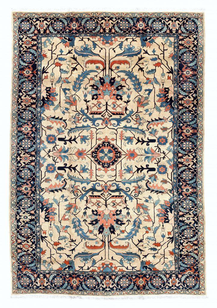 Persian Heriz carpet, Essie Carpets Mayfair, London