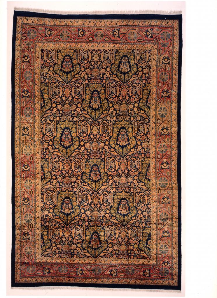 Beige Persian Mahal Extra Large Carpet