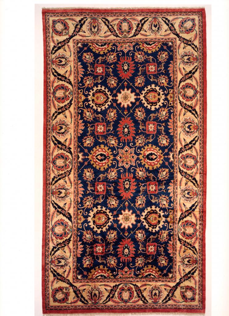 Navy Persian Mahal Extra Large Carpet