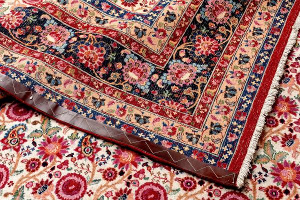 Persian Tabriz Wool Carpet - Allover Design