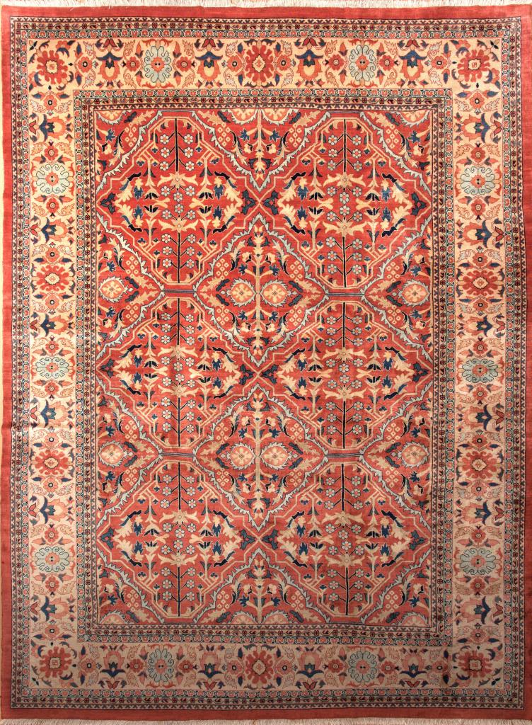 Persian Mahal Wool Carpet – Allover Design