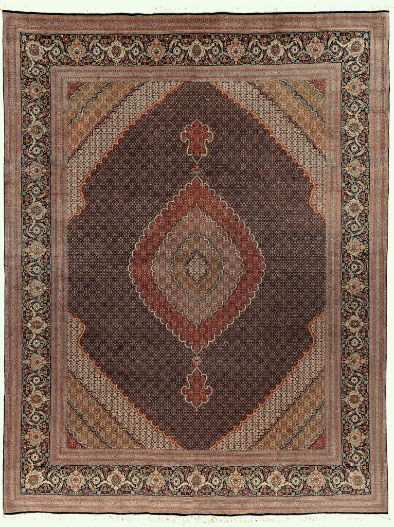 Persian Tabriz Carpet - Fine Silk and Wool