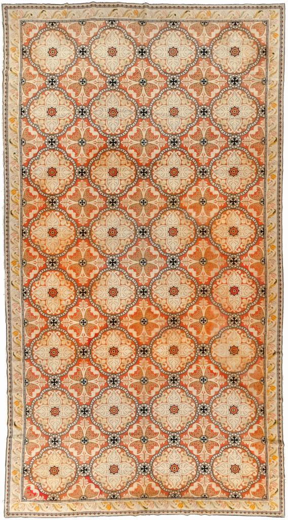 Large English Gallery Carpet - Wool