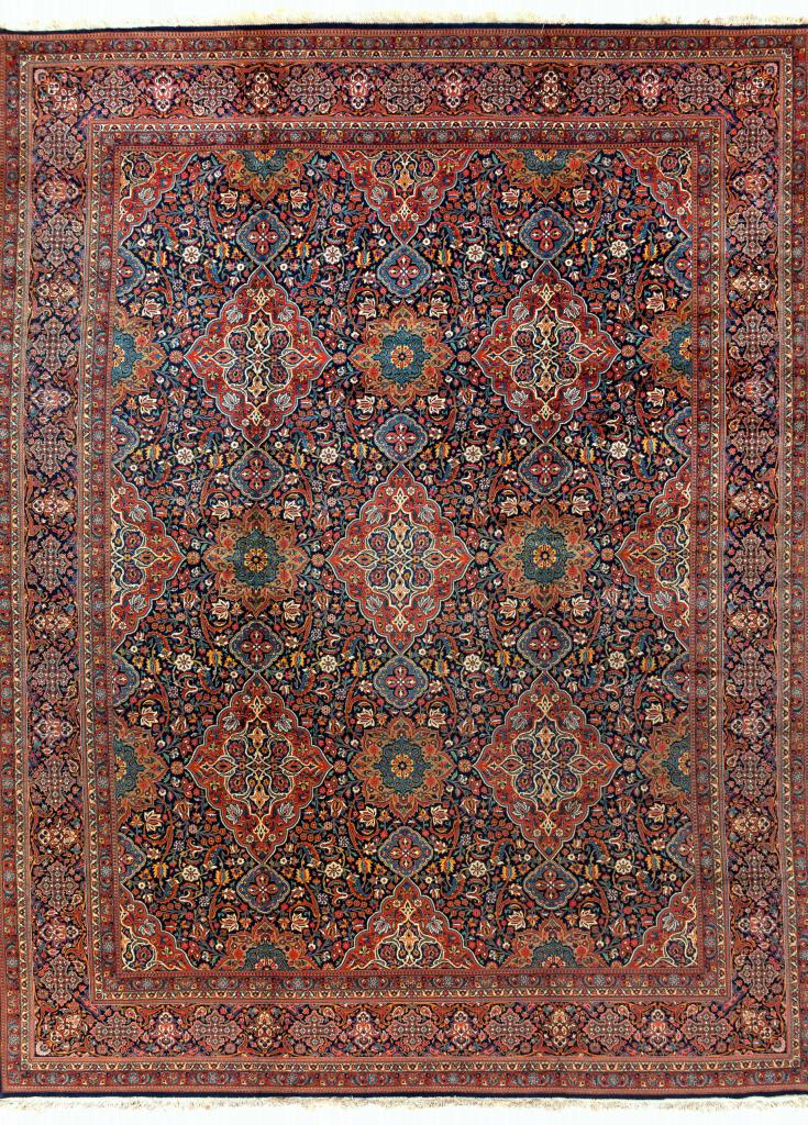 Fine Persian Kashan Carpet - Oversize