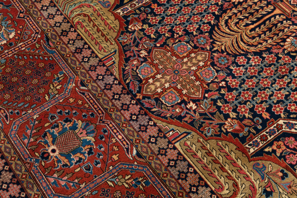 Very Fine Persian Kashan Large Carpet - Oversize - Wool - Approx 5x3m (17x10ft)