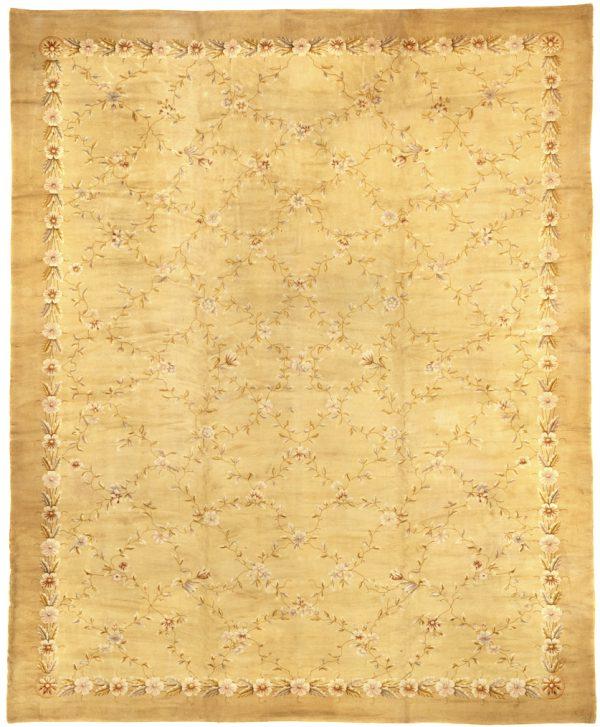 European Large Savonnerie Carpet - Oversize