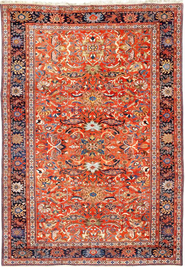 Persian Mahal Large Carpet - Oversize