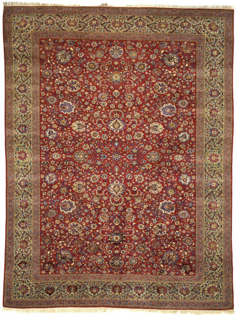 Antique Persian Tehran Carpet - Oversize