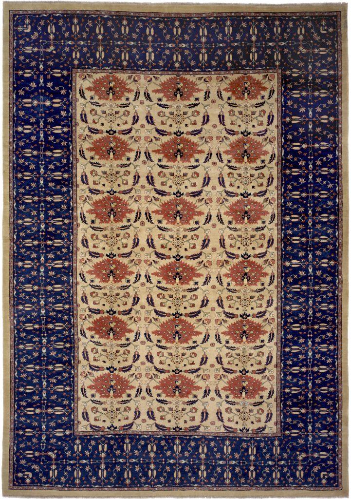 Persian Mahal Large Carpet - Oversize - Wool