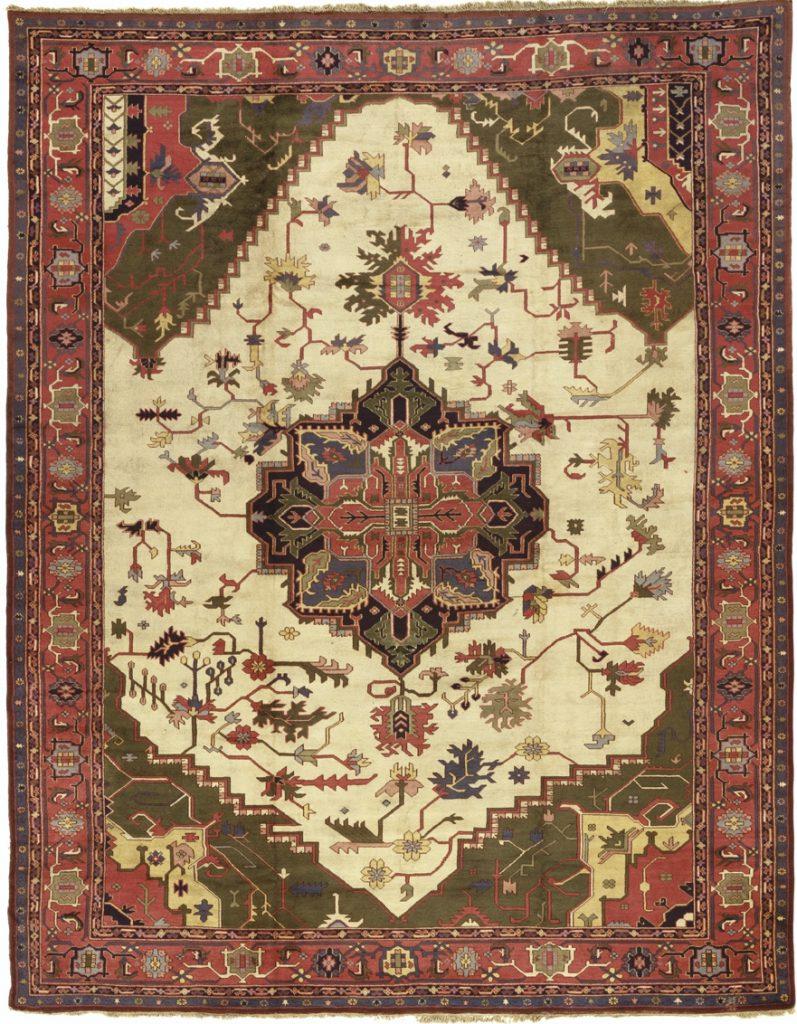 Antique Turkish Serapi Carpet - Oversize
