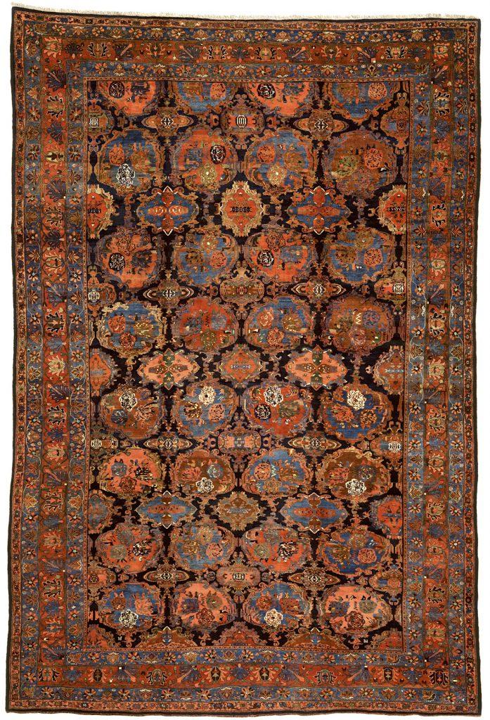 Persian Bijar Extra-Large Carpet - Mansion Size