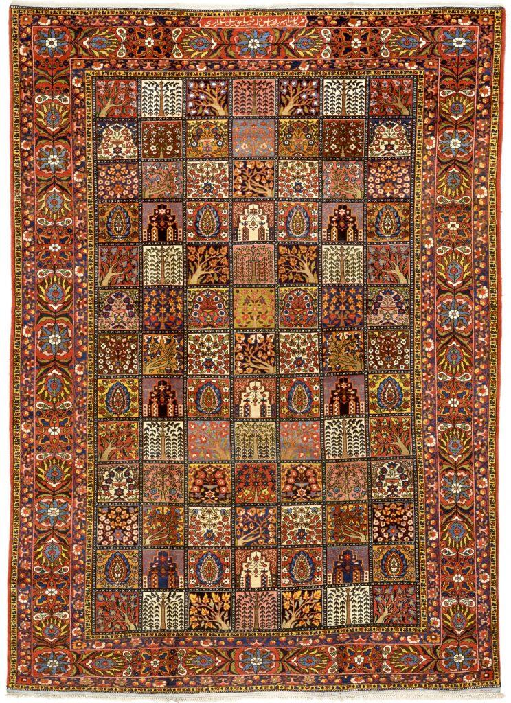 Persian Bakhtiari Large Carpet - Oversize