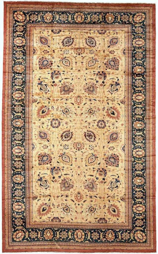 Persian Mahal Extra-Large Carpet - Palace Size - Wool