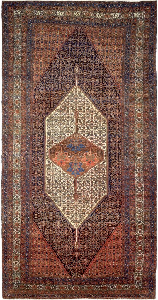 Persian Hamadan Malayer Extra-Large Gallery Carpet - Oversize