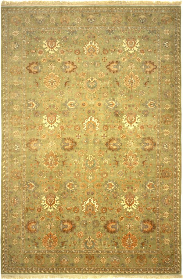 Persian Tabriz Extra-Large Carpet - Palace Size - Fine Silk and Wool