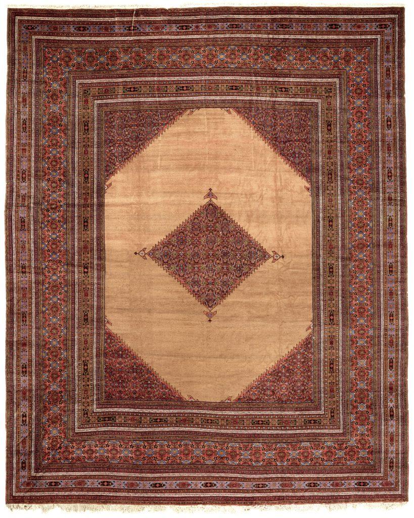 Persian Dorokhsh Extra-Large Carpet - Palace Size - Wool
