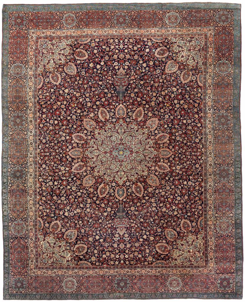 Antique Persian Tabriz 'Ardebil' Carpet - Palace Size - Wool